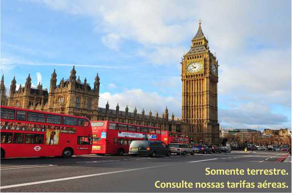Paris e Londres com ext. a Amsterdã